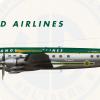 "3. Vanguard Airlines Lockheed L-1049G Super Constellation ""1939-1958"""