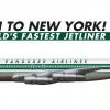 """3. Vanguard Airlines Boeing 707-320B """"1961-1970"""""""