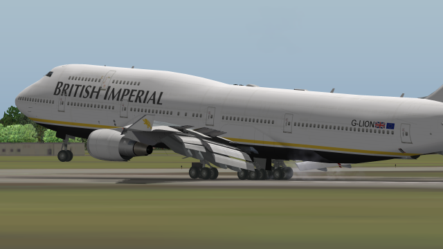747 400 4 - X-Plane Screenshots - Gallery - Airline Empires
