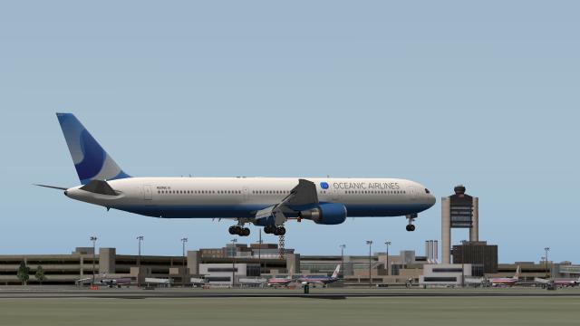 Oceanic 767-400 - X-Plane Screenshots - Gallery - Airline Empires
