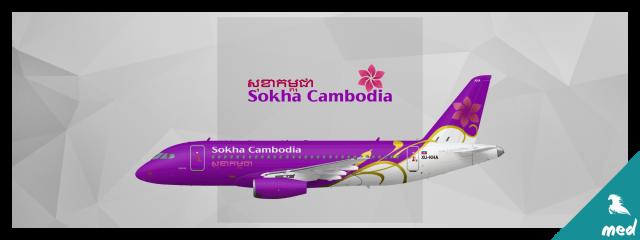Sokha Cambodia Sukhoi Superjet 100 - SkySwimmer's Gallery of