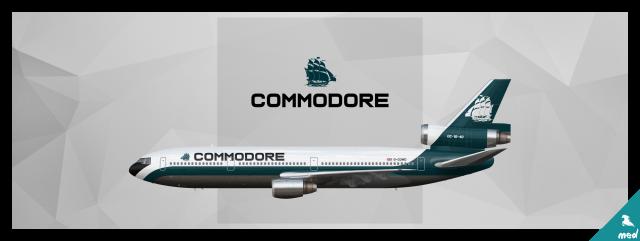 Commodore Douglas DC-10-40
