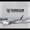 Dinkum Airbus A320 (Sharklet)