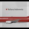Kelana Indonesia Boeing 737-400