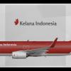 Kelana Indonesia Boeing 737-800