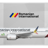 Romanian International Airlines Boeing 737 MAX 8