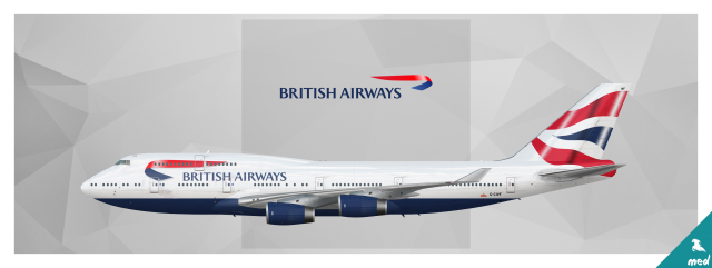 British Airways Boeing 747-436 G-CIFV