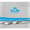KLM Royal Dutch Airlines Boeing 747-406 PH-BFB