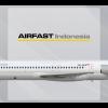 Airfast Indonesia McDonnell Douglas MD-83 PK-OCS