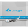 KLM Cityhopper Embraer ERJ-190 PH-EZA