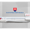Slovenska Republika Tupolev Tu-154M OM-BYO