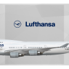 Lufthansa Boeing 747-400 D-ABVW 'Wolfsburg'