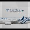 Garuda Indonesia Boeing 737-8U3(WL) PK-GMH Skyteam Livery