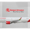 Kenya Airways Embraer ERJ-190 5Y-FFG