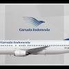 Garuda Indonesia Boeing 737-4Y0 PK-GWX