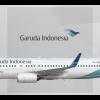 Garuda Indonesia Boeing 737-8U3(WL) PK-GMD