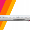 Southeastern Airlines MD-80 (2005-Present Livery)