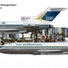 Gulf Air Lines > Gulf International B727-100