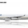 What could have been: Continental Airlines A340-300