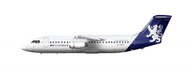 Air Scotland BAe 146-300