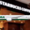 PNA Boeing 787-8 Starbucks
