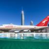 Qantas Boeing 747-SP38