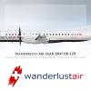 Wanderlust Air Livery SAAB 2000