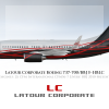 Latour Corporate Livery Boeing BBJ
