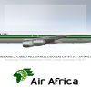 Air Africa Cargo Livery DC-8