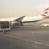 British Airways 777 at JED