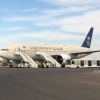 Saudia 777 at KRT