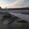 In a KLM 737, Looking at Air France (A320?) at CDG