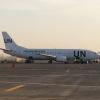 UN 737 at KRT