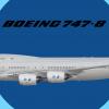 """American Airways Boeing 747-8 N748AA """"Everett"""""""