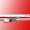 "rouge A320-200, 1990's Livery, ""C-CYEG"" Edmonton"