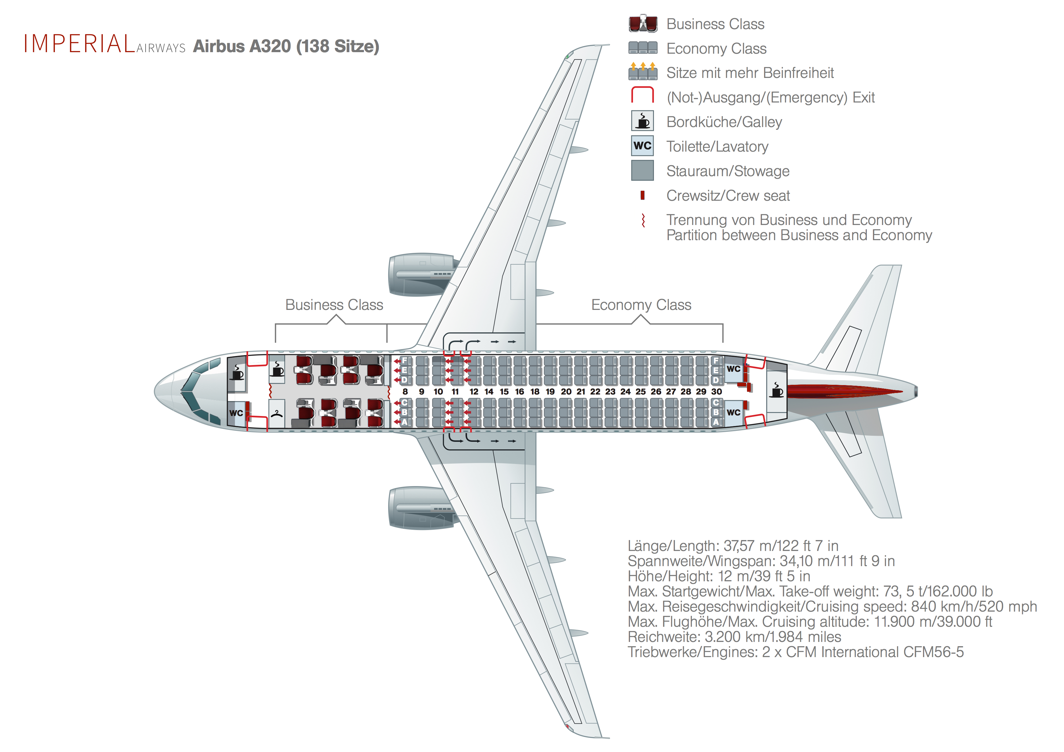 airplane seats diagram html